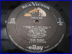 Elvis Presley Elvis is Back! LP NM LPM-2231 1960 Mono 2S/1S