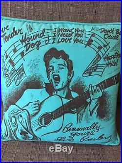 Elvis Presley Enterprise 1956 Original Pillow