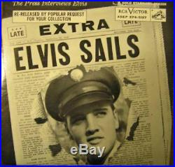Elvis Presley Epa 5157 Elvis Sails Orange Label, Nm