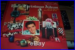 Elvis Presley Extremely Rare Record Album Loc 1035 Elvis Christmas Album 1957