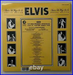 Elvis Presley FTD That's The Way It Is Special Edition Vinyl Record