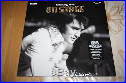 Elvis Presley FTD Vinyl 2 LP On Stage Follow That Dream NEW SEALED