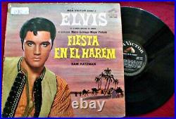 Elvis Presley Fiesta En El Harem Harum Scarum Original 1966 Uruguay