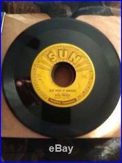 Elvis Presley First Press Misprint Upside down #209 Blue Moon/That's All Right