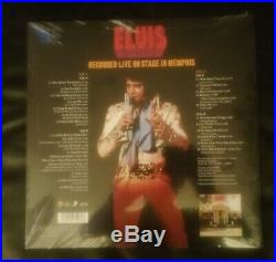 Elvis Presley Ftd Vinyl Recorded Live On Stage In Memphis Deleted