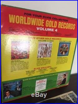 Elvis Presley GOLD RECORDS VOLUME 4 US MONAURAL-RARE SELLING MY COLLECTION