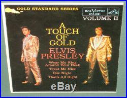 Elvis Presley GS RCA EPA-5101 A Touch Of Gold Vol II EP Original NM Cover ONLY