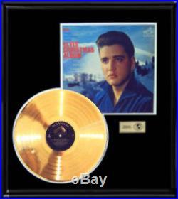 Elvis Presley Gold Record Christmas Album Rare Vintage Disc Lp 1950's