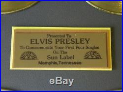 Elvis Presley Gold Records First Four Singles on the Sun Label