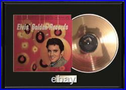 Elvis Presley Golden Records Gold Metalized Record Vinyl Lp Album Non Riaa Award