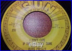Elvis Presley Good Rockin' Tonight 45 Sun 210 Original 45