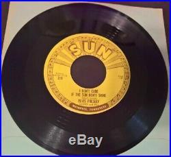 Elvis Presley Good Rockin' Tonight 45 Sun 210 Original 45 Near Mint
