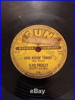 Elvis Presley Good Rockin Tonight I Dont Care If The Sun Dont Shine 78 1954