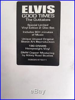 Elvis Presley Good Times FTD LP Vinyl 180g same day dispatch