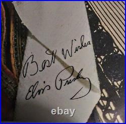 Elvis Presley Harum Scarum Lsp 3468 With Autographed Color Photo
