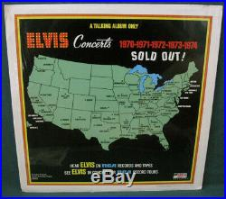 Elvis Presley Having Fun With Elvis On Stage LP Boxcar Rarity MINT 1974