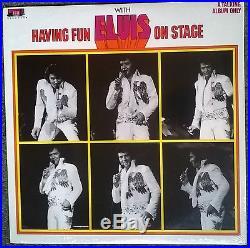 Elvis Presley Having Fun With Elvis On Stage LP SEALED