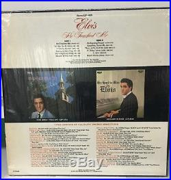 Elvis Presley He Touched Me LP with rare Grammy Award sticker