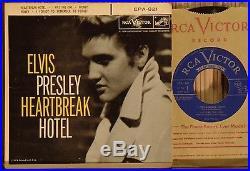 Elvis Presley Heartbreak Hotel Original very rare Canadian Copy NM. EP