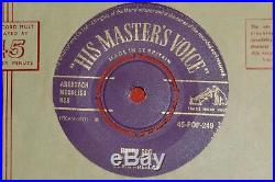 Elvis Presley. Hound Dog/don't Be Cruel. Hmv 45-pop 249 (rare Tracks)