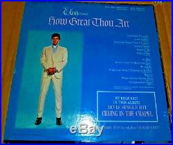 Elvis Presley How Great Thou Art LSP-3758 SEALED PROMO (1967) RARE STEREO