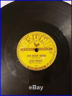 Elvis Presley I Dont Care If The Sun Dont Shine Good Rockin Tonight 1954 #210