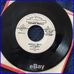 Elvis Presley I Forgot To Remember To Forget / Mystery Train Promo 45 RPM