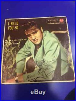 Elvis Presley I NEED YOU SO Italy RCA 1957 45 giri 7 a72v 0175 ORIGINAL RARE