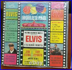 Elvis Presley IT HAPPENED AT THE WORLD'S FAIR LSP-2697 BAGGY with MINT PHOTO