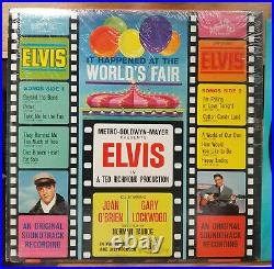 Elvis Presley IT HAPPENED AT THE WORLD'S FAIR LSP-2697 SHRINK with MINT PHOTO