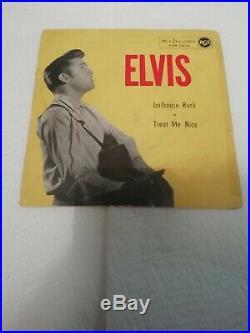 Elvis Presley Jailhouse Rock / Treat Me Nice Vinile Rosso (red Vinil)