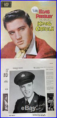 Elvis Presley King Creole Mint Original Sealed LP With Bonus Photo
