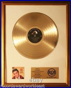Elvis Presley King Creole Movie Soundtrack LP Gold Non RIAA Record Award RCA