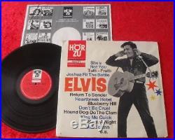 Elvis Presley LP Golden Boy Elvis (HörZu SHZT 521) 1965