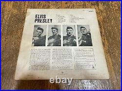 Elvis Presley LP Self Titled Debut Album RCA Victor LPM 1254