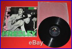Elvis Presley LPM-1254 Lite Pink 1956 1st Pressing PD Credit NEAR MINT Amazing
