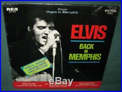 Elvis Presley LPM-6020 From Vegas To Memphis 2 LP Sticker Photos NM RIGID 1969