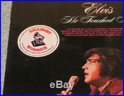 Elvis Presley LSP-4690 He Touched Me LP With Hype Grammy Sticker SEALED MINT RARE