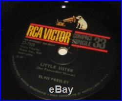 Elvis Presley Little Sister His Latest Flame RCA Victor 7 inch Compact Single 33