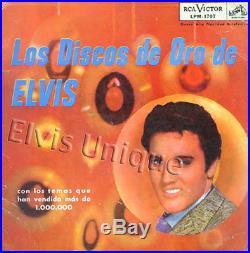Elvis Presley Los Discos De Oro De Elvis (Elvis' Golden Records) Rare LP
