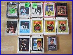 Elvis Presley Lot 45rpm records, Picture sleeves, LP's, Magazines, 8-tracks