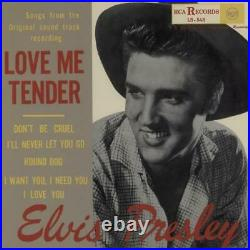 Elvis Presley Love Me Tender 10 vinyl single record Japanese promo RTB-3001