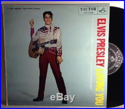 Elvis Presley Loving You LP Japan-Victor Rare
