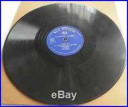 Elvis Presley Loving You Teddy Bear 78 RPM 10 It Rca Italiana Blue Label 1950's