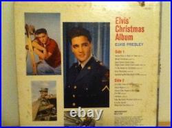 Elvis Presley Lp Elvis Christmas Album