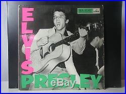 Elvis Presley Lp Rear Clp-1093 Uk 1956