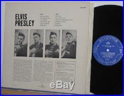 Elvis Presley Lpm-1254 Canadian Copy On The Light Blue Label Mint- Lp