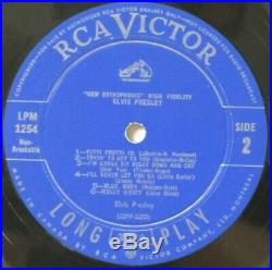 Elvis Presley Lpm 1254 Original Canadian Only Light Blue Label Mint- Lp