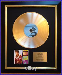 Elvis Presley / Ltd Edition CD Gold Disc / Record / Blue Hawaii