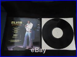 Elvis Presley Madison Japan Promo White Label Vinyl LP in Test Picture Sleeve